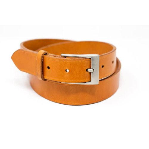 Fontana Leather Design English Bridle Belt - London Tan