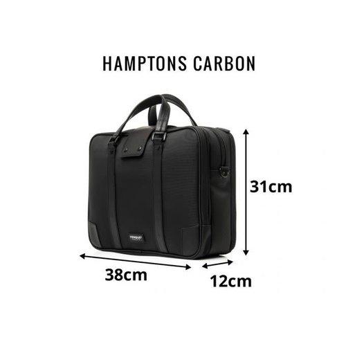 Venque Hamptons Carbon Briefcase