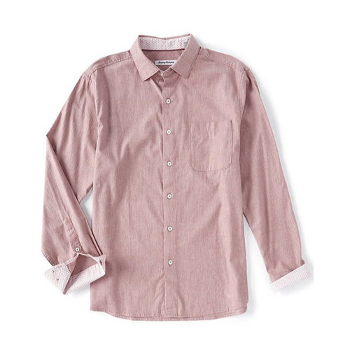 Tommy Bahama Heather Bay Herringbone Shirt