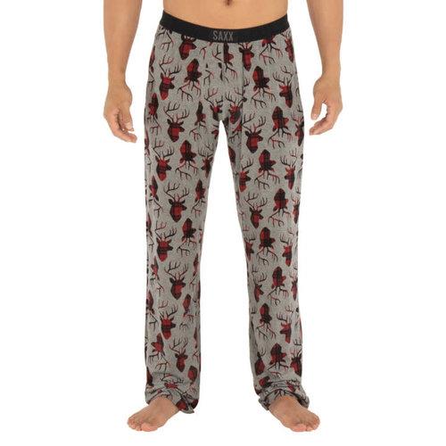 SAXX Sleepwalker Pants - Grey Buck Plaid