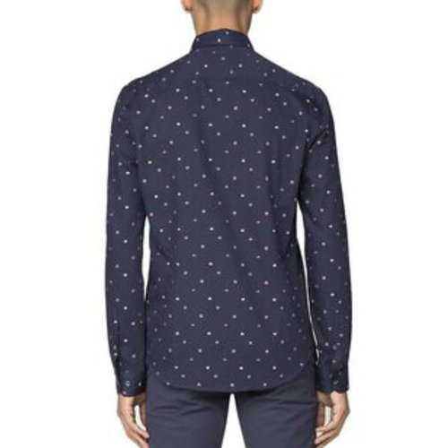 Ben Sherman Clip Float Strip L/S Shirt