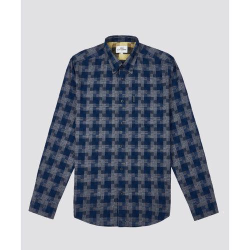 Ben Sherman Textured Check L/S Shirt