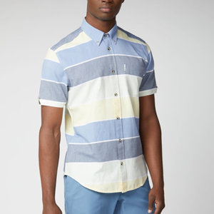 Ben Sherman Engineered Striped S/S Shirt