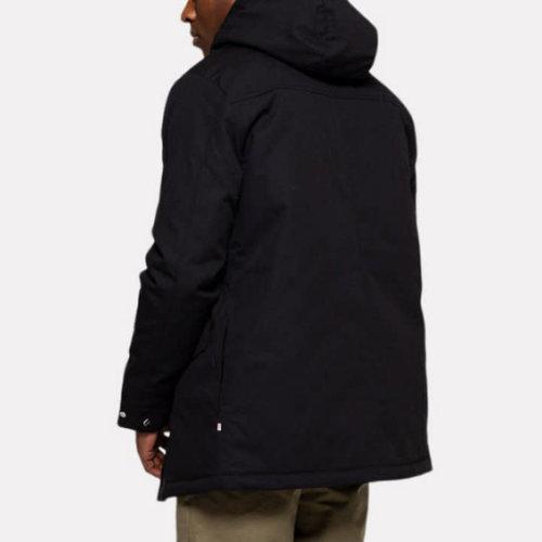 RVLT Leif Parka Jacket - Black