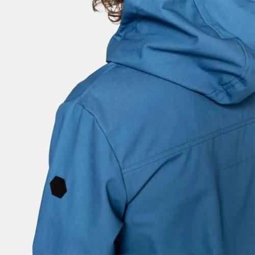 RVLT Martin Hooded Shell Jacket - Blue