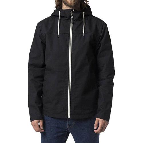 RVLT Martin Hooded Shell Jacket - Black