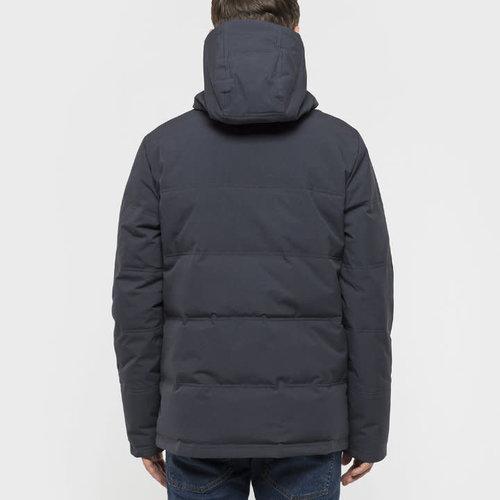 RVLT Jesper Hooded Down Jacket - Grey