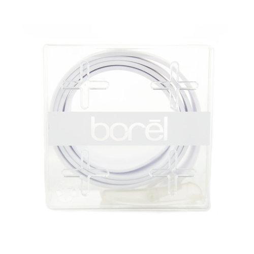 Borel Nickel Free Belt - White