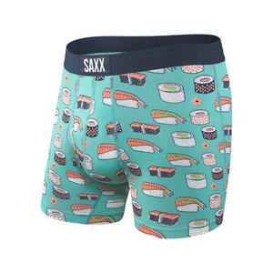 SAXX Ultra Boxer Brief - Green Sushi