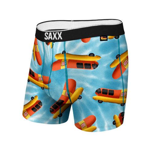 SAXX Volt Boxer Brief - Tie Dye Weinermobile