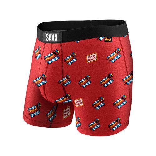 SAXX Vibe Boxer Brief - Red Chill-E