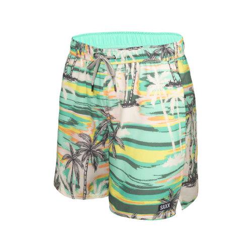 "SAXX Oh Buoy Swim Shorts 5"" - No Bad Days"