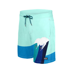 "SAXX Betawave Swim Shorts 19"" - Riding Giants"