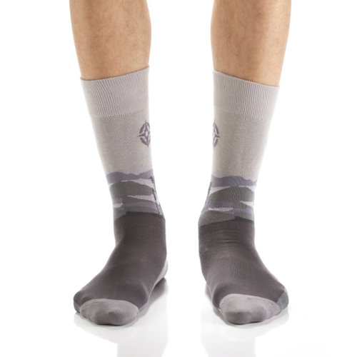 Yo Sox Due North Crew Socks