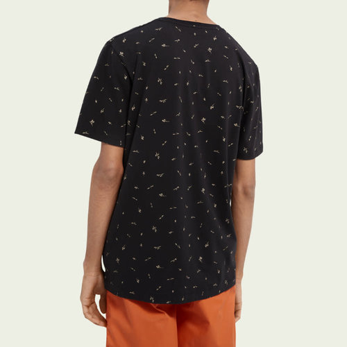 Scotch & Soda Crewneck Cotton Blend T-Shirt