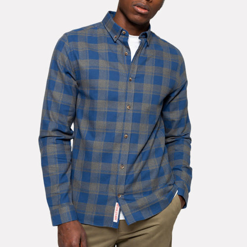 RVLT Plaid Button-Down Shirt