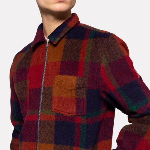RVLT Fleece Zip Overshirt