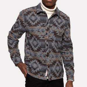 RVLT Aztec Wool Shirt