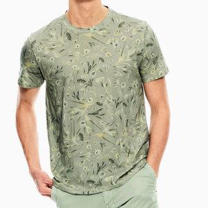 Garcia Floral Print T-Shirt