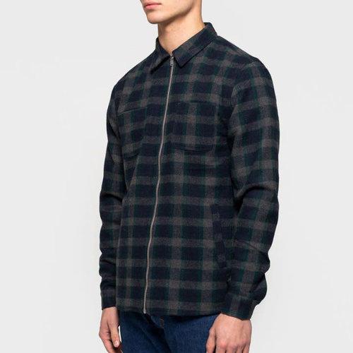 RVLT Sigurd Flannel Zip Shirt
