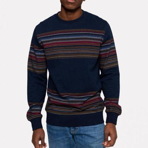 RVLT Panel Stripe Sweater