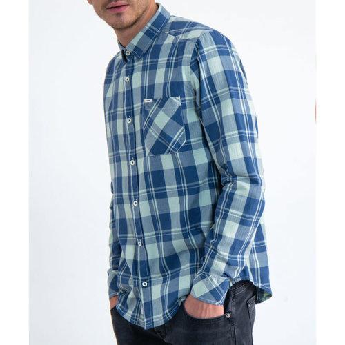 Garcia Plaid Button-Up Shirt