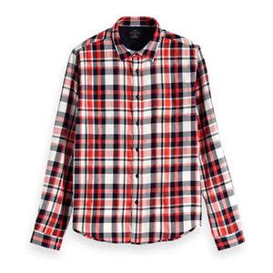 Scotch & Soda Brushed Flannel L/S Shirt