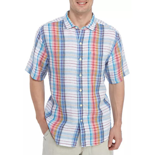 Tommy Bahama Tellaro Plaid Shirt