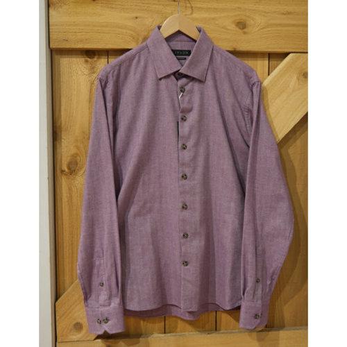 Lipson Shirtmakers Hidden Button L/S Shirt