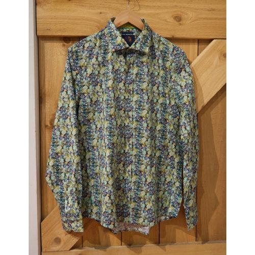 John Lennon Collection Garden Floral L/S Dress Shirt