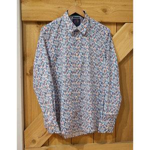 John Lennon Collection Geo Leaf L/S Dress Shirt