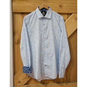 English Laundry Blue Garden L/S Dress Shirt