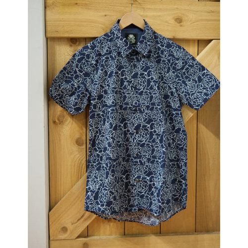 English Laundry Line Drawn Roses S/S Shirt