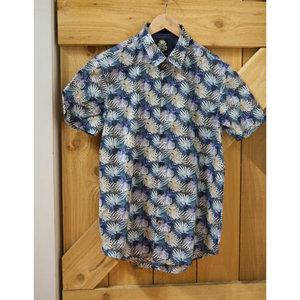 English Laundry Layered Leaves S/S Shirt