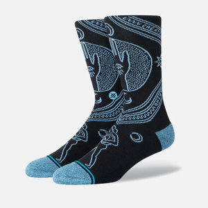 Stance Life Cosmic Seeing Black Infiknit Socks
