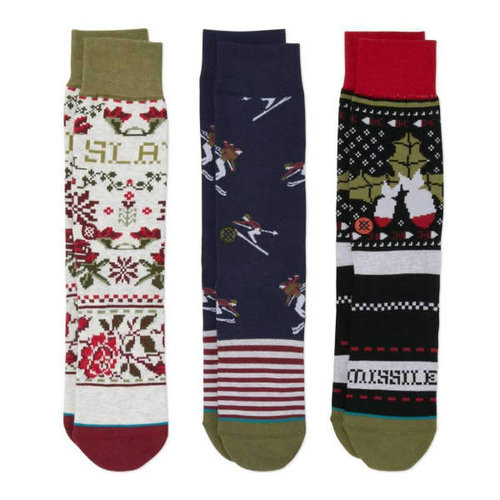 Stance Holiday Christmas Socks - 3 Pack