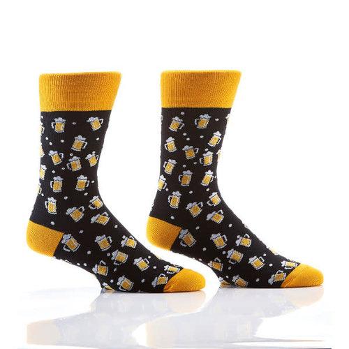 Yo Sox Beer Stein Crew Socks