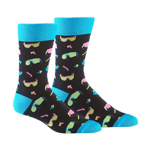 Yo Sox Hot Rays Crew Socks