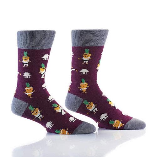 Yo Sox Carrate Crew Socks