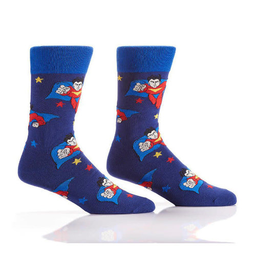 Yo Sox Superhero Crew Socks