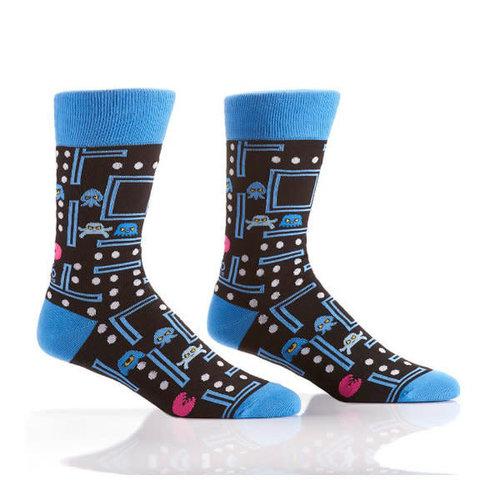 Yo Sox Arcade Games Crew Socks