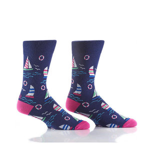 Yo Sox Sail Crew Socks