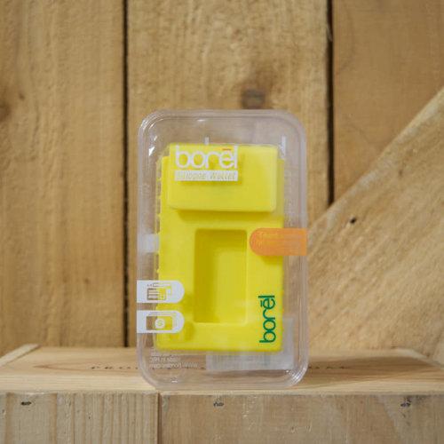 Borel Silicone Wallet - Yellow