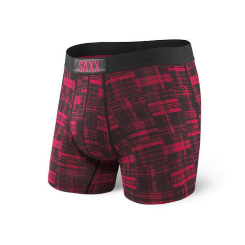 SAXX Vibe Boxer Brief - Patched Plaid
