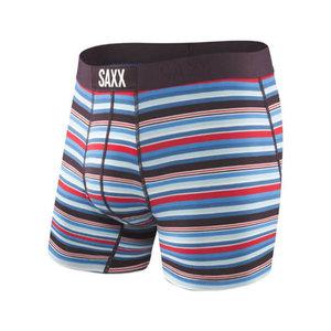 SAXX Vibe Boxer Brief - Berry Camp Stripe