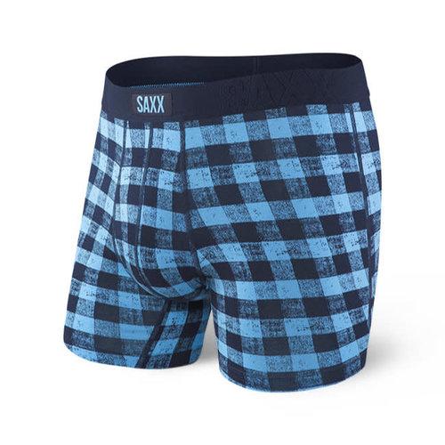 SAXX Undercover Boxer Brief - Blue Gingham
