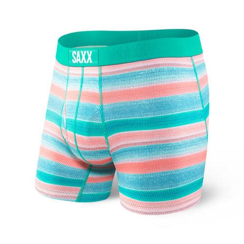 SAXX Ultra Boxer Brief - Cross Grain Stripe