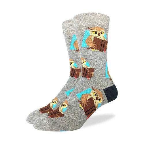 Good Luck Sock Book Owl Socks
