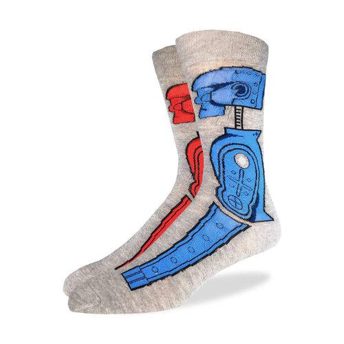 Good Luck Sock Rock 'em Sock 'em Socks