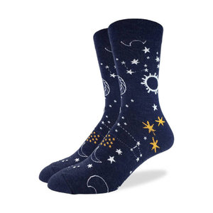 Good Luck Sock Starry Night Socks